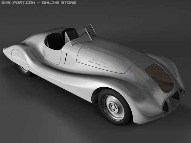 Auto Union Wanderer Streamline 3D Model