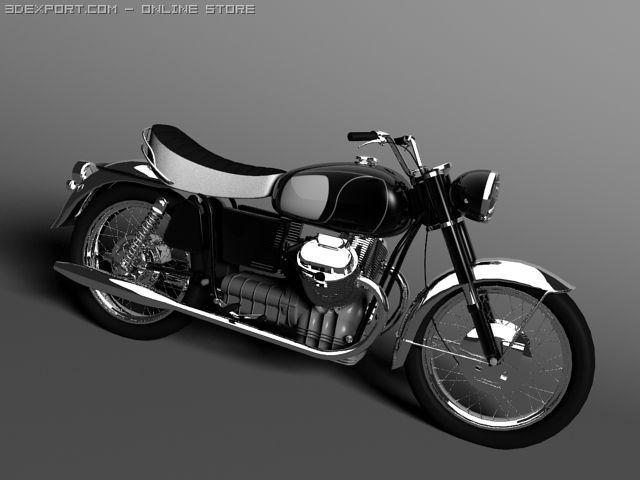 Moto Guzzi 850 California 3D Model