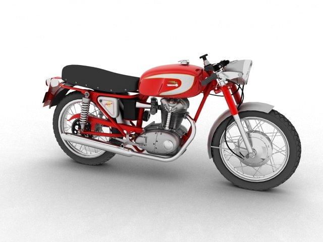 Ducati 250 Mach 1 1964 3D Model