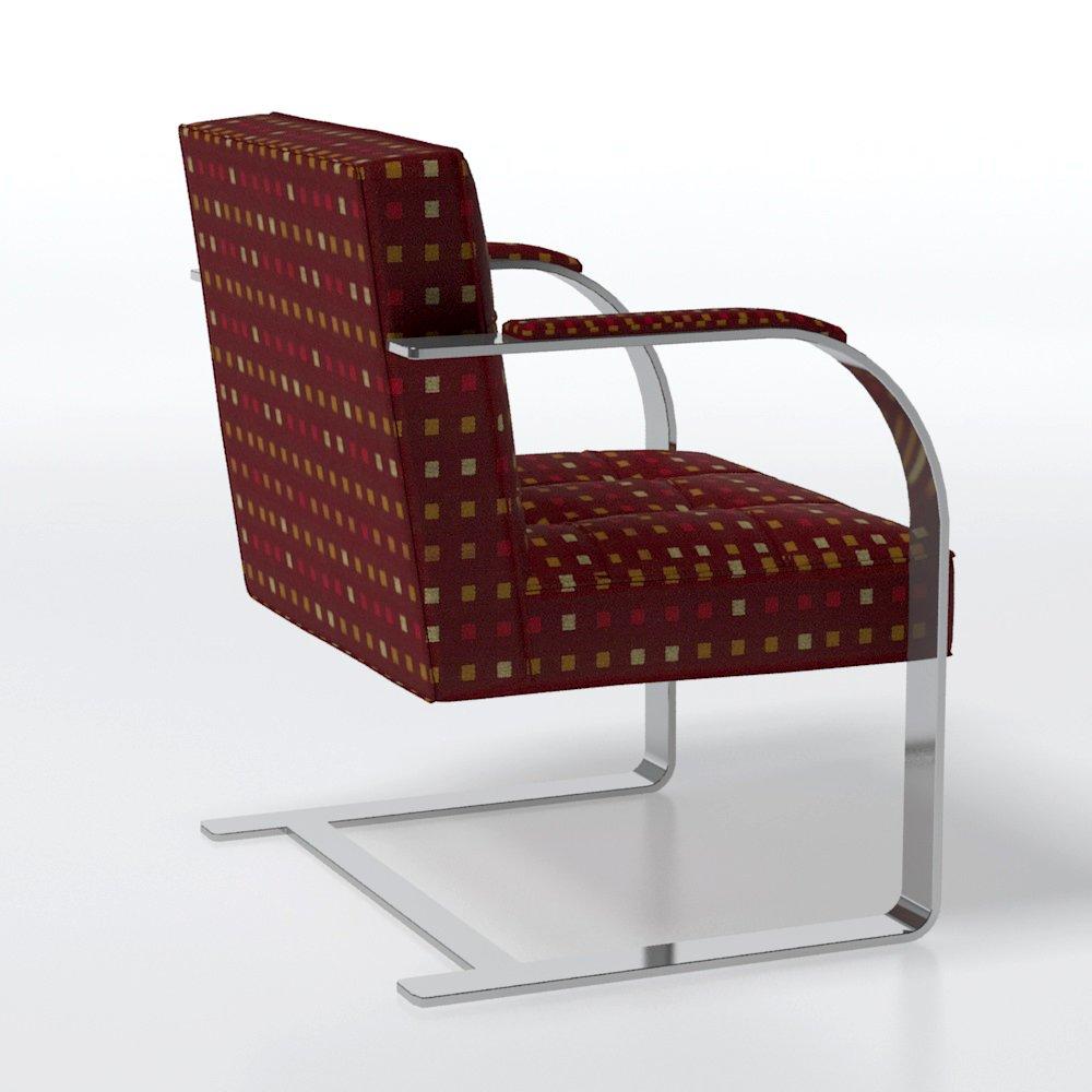 Brno Barcelona Chair Free 3d Model In Chair 3dexport