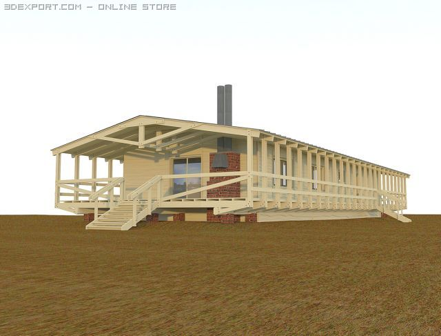 Woodhouse 3D Model
