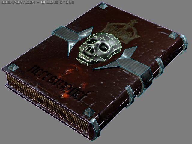 Necro Book 3D Model