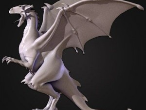 Winged Dragon Male