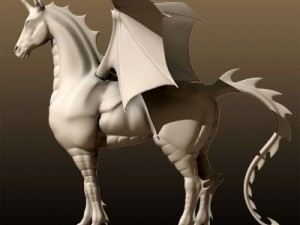 Fantasy Winged Horse