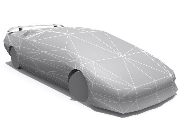 Lamborghini Diablo Vt Base 3d Model In Sport Cars 3dexport