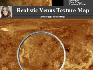 Venus Texture Map
