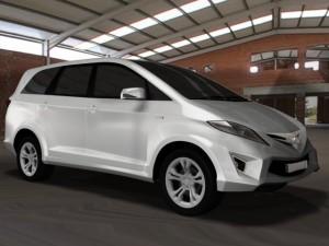 Toyota innova  face lift 2012
