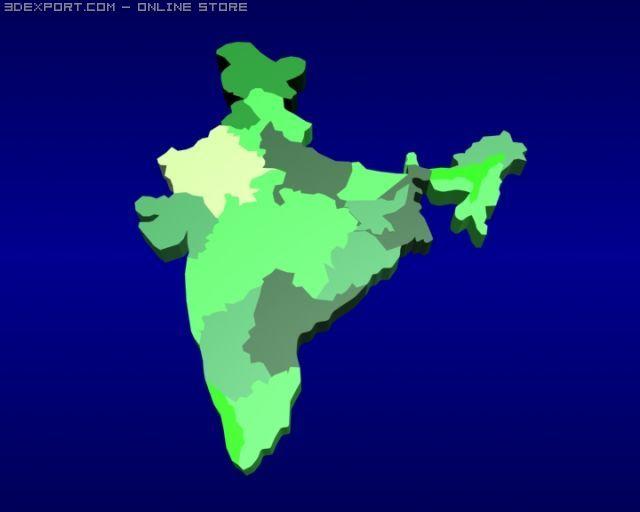 World Map 3d Model.India Map 3d Model In Other 3dexport