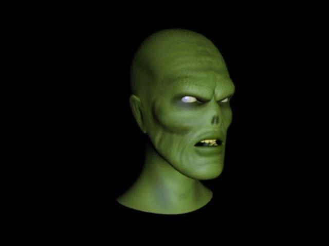 Zombie head + Ztool 3D Model
