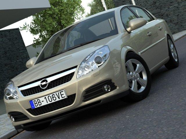 Opel Vectra 2006 3D Model