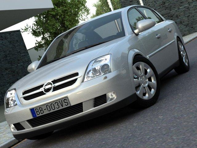 Opel Vectra 2003 3D Model