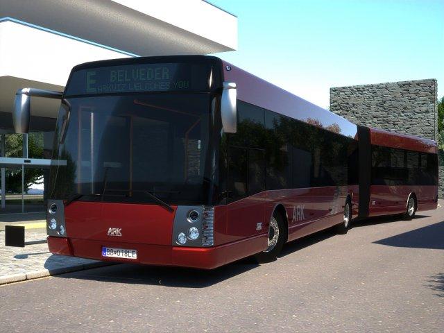 ARKbus 18 City Liner 3D Model