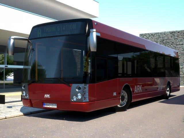 ARK bus 12 City Liner 3D Model