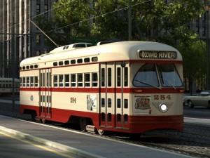 PCC Streetcar 1945