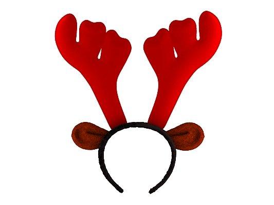 Christmas Reindeer Antler Headband 3D Model