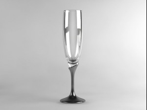 Champagne Flute Glass 01