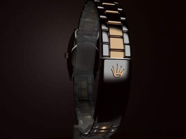 3D Rolex Watch 3D Model