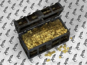 Chest With Golden Coins