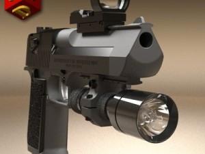 Desert Eagle pistol 1