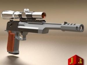 Desert Eagle pistol 2
