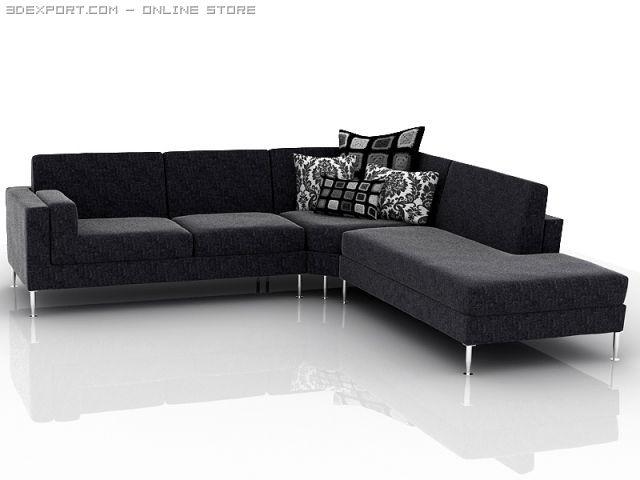 L Shaped Sofa Model