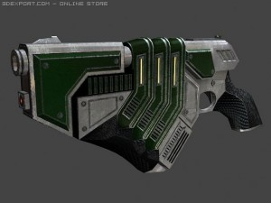 Quark pistol