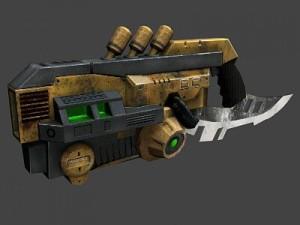 Acid rifle