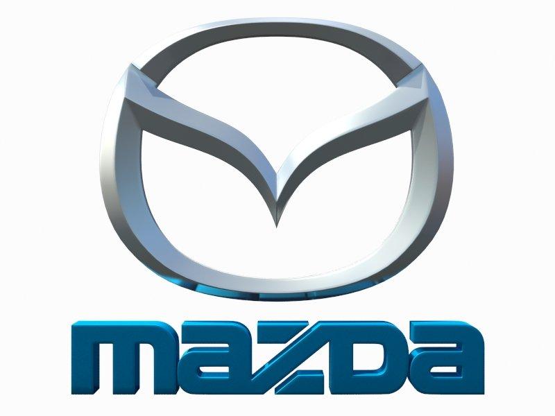 Mazda Logo Model 3D in Parts of auto 3DExport