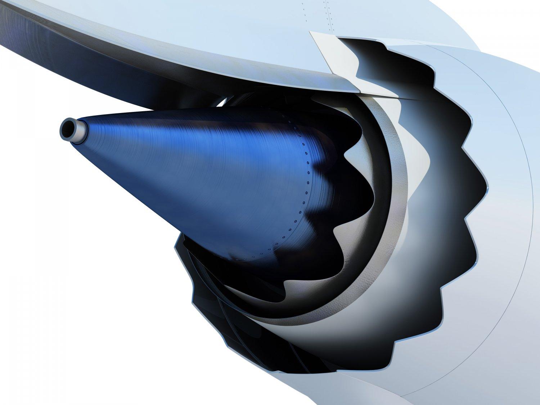 General Electric GEnx turbofan jet engine 3D Model in Commercial 3DExport