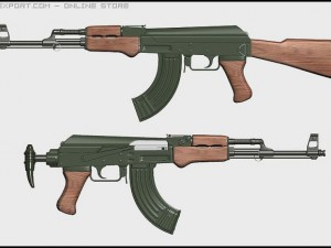 2 Guns AK47 Custom