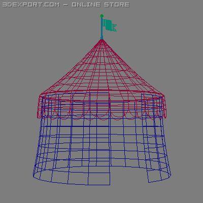Circus Tent. Remove Bookmark Bookmark This Item & Circus Tent 3D Model in Buildings 3DExport