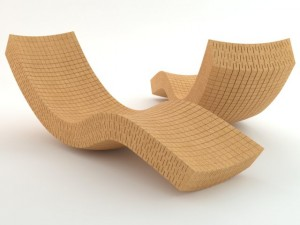 Cork Chaise Longue