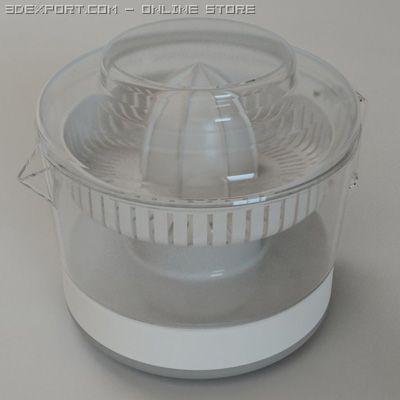 Electrical Juice Squeezer 3D Model