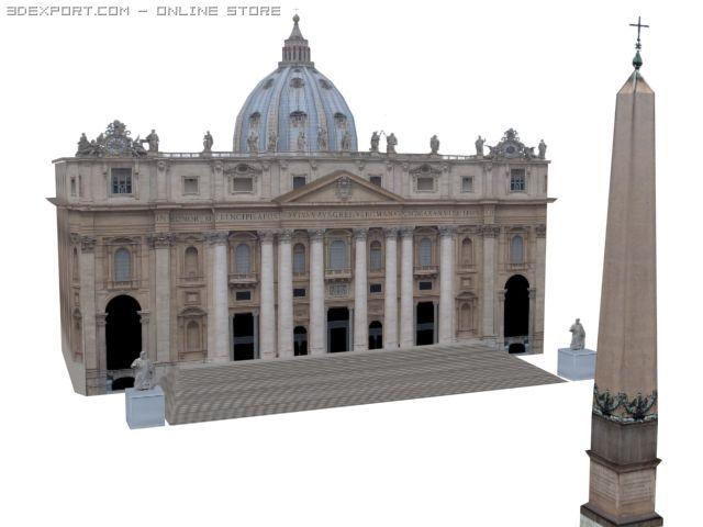 Majestic Classy Forums 3D Model