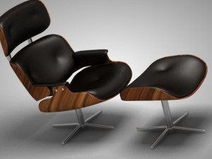 Long chair Eames