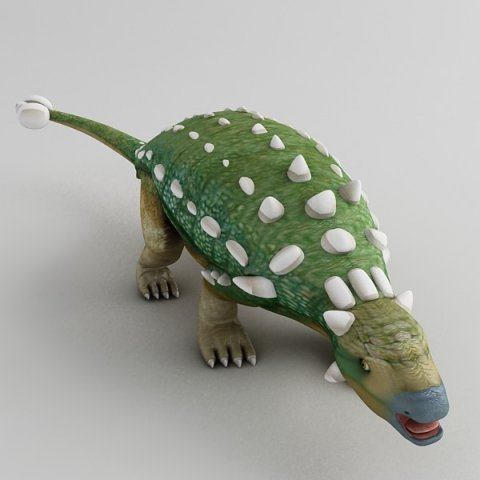 Download free Euoplocephalus 3D Model