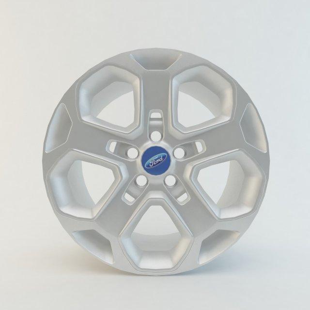 Ford Mondeo mk4 Rim 3D Model