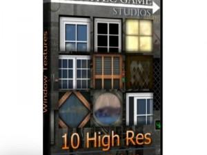 10 High Res Window Textures