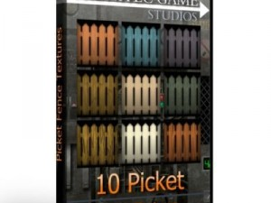 10 Picket Fence Textures