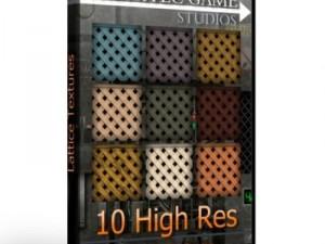 10 Lattice Textures