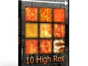10 High Res Fire Textures