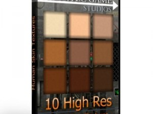 10 High Res Human Skin Texture