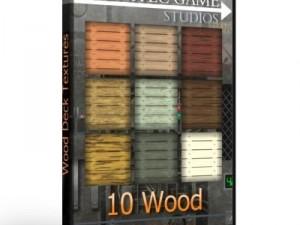 10 Wood Deck Textures