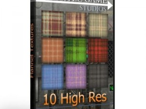 10 High Res Flannel Textures