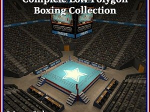 Complete Low Polygon Boxing Collection