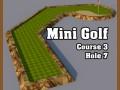 Low Poly Mini Golf Hole C3H7