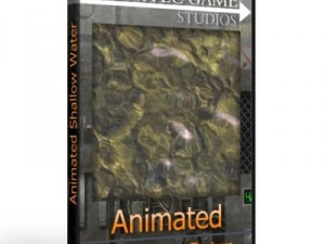 Animated Shallow Water Texture 8