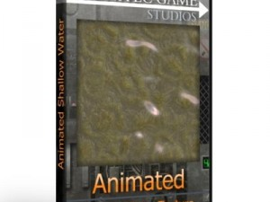 Animated Shallow Water Texture 10