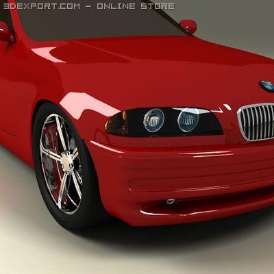BMW 3er E46 3D Model