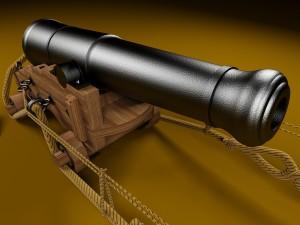 British 68-pound naval gun